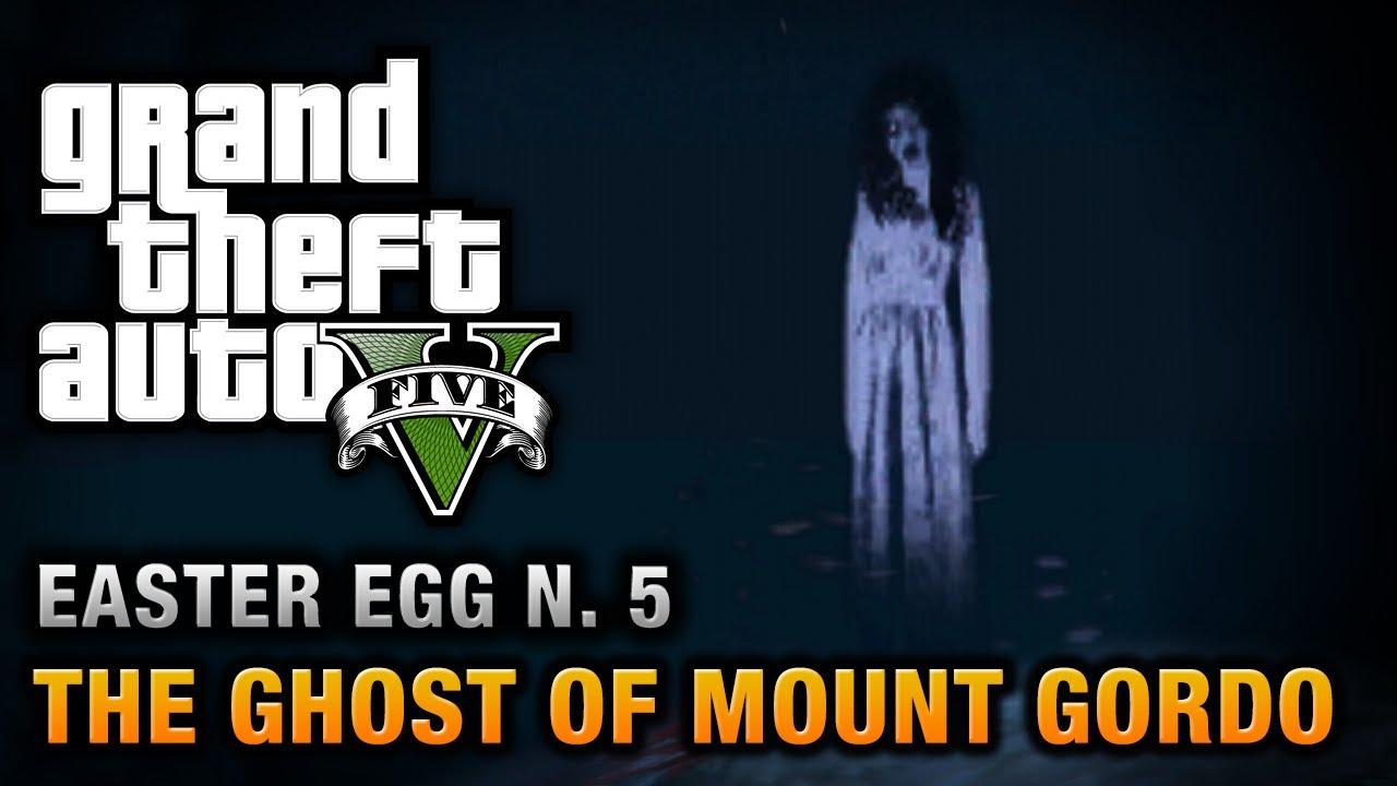 Gta 5 Easter Egg 5 The Ghost Of Mount Gordo Youtube