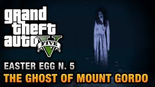 GTA 5 Easter Egg #5 The Ghost Of Mount Gordo