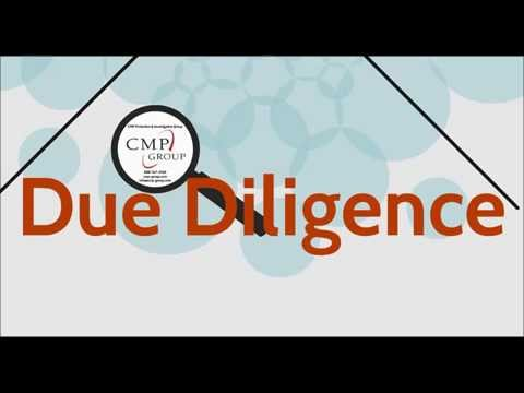 NYC Due Diligence Checks- What You Can Learn By Doing  A Due Diligence Investigation - CMP Group