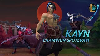 League of Legends - Kayn Champion Spotlight