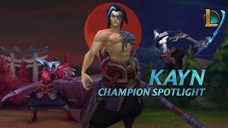 League of Legends - Kayn Champion Spotlight