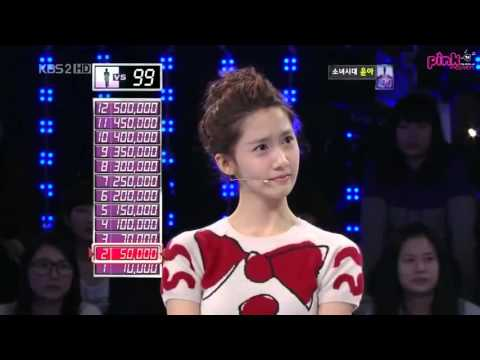 Vietsub  KBS 1 vs 100   Yoona 12