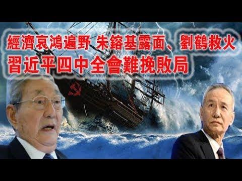 经济哀鸿遍野 朱镕基露面、刘鹤救火 习近平四中全会难挽败局