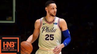 Miami Heat vs Philadelphia Sixers Full Game Highlights / Game 1 / 2018 NBA Playoffs