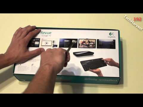 Logitech Revue With Google TV Unboxing
