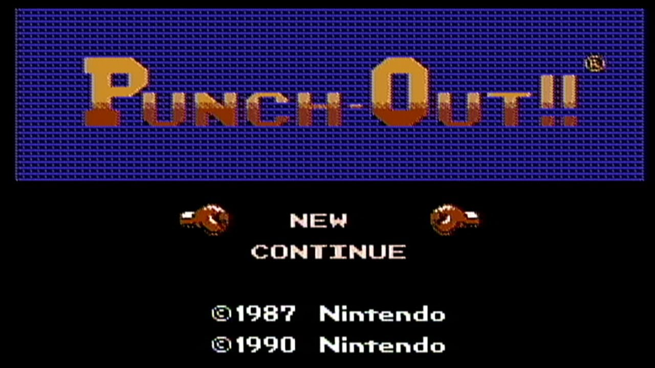 Punch Out Nes Gameplay Youtube