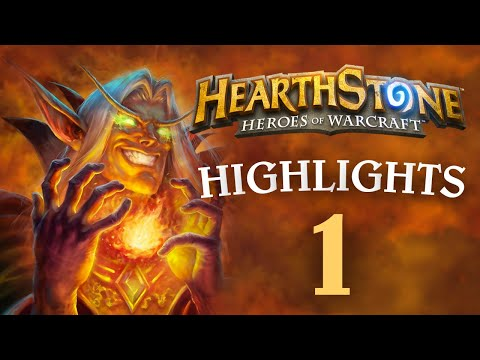 Hearthstone Daily Funny and LOL Moments Ep. 1