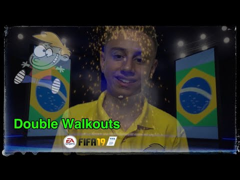 Wall Bouncer Fifa 19 Pack Opening Including Double Walkouts