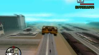GTA San Andreas Gatling Gun Location/Tutorial