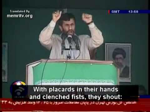 Re: Curly quotes, Iran, Israel, Ahmadinejad & the Media