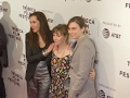 Dunham hits Tribeca carpet for mothers film