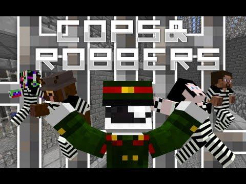 Minecraft: COPS N ROBBERS - CAI NGỤC VS TÙ NHÂN!!!
