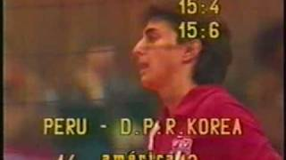 PERU VS KOREA DEL NORTE 1987