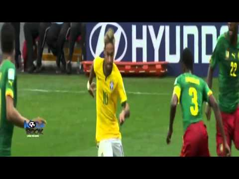 Brazil vs Cameroon 4-1 All Goals World Cup 2014