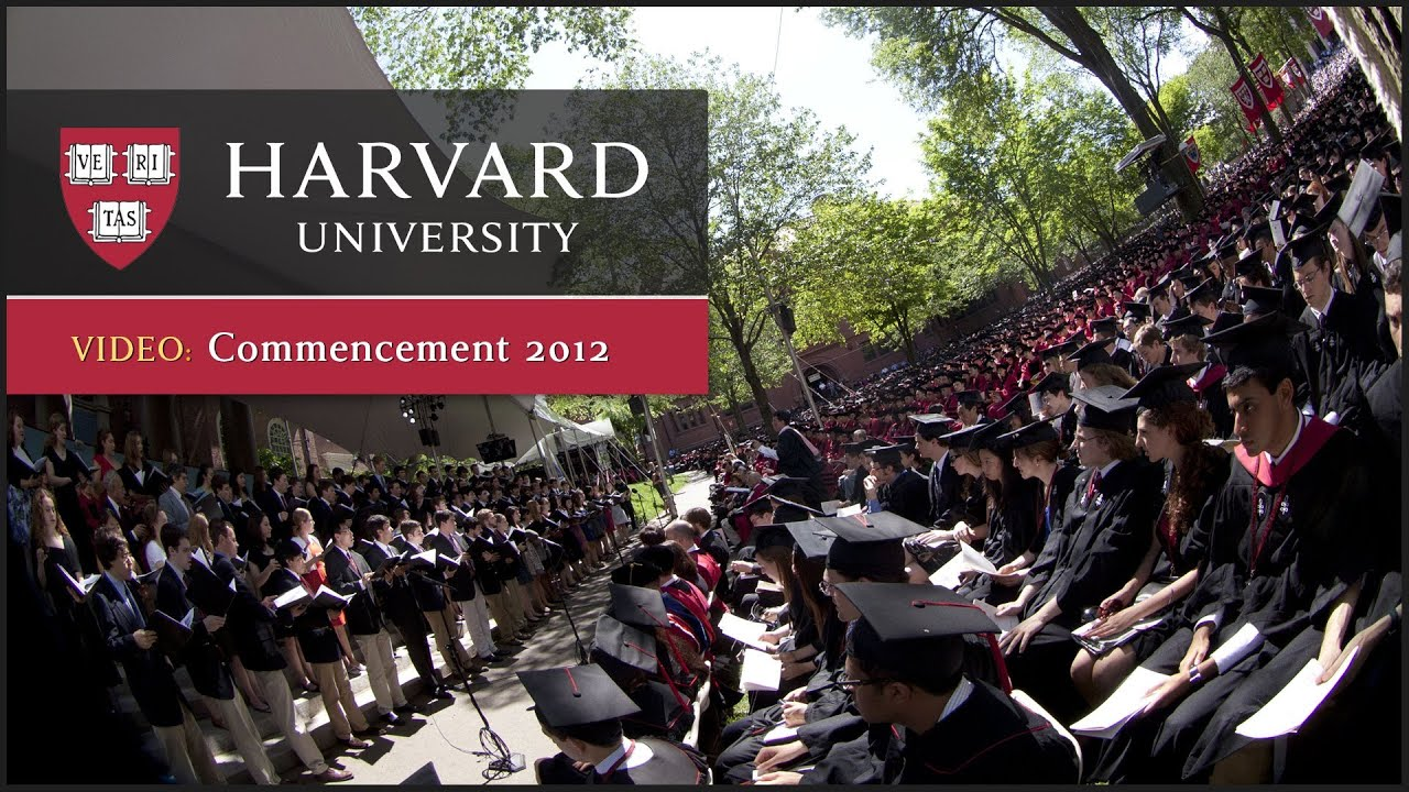 Harvard Commencement 2012