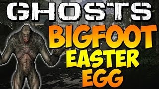 "COD Ghosts ""SECRET BIGFOOT EASTER EGG"" On PRISON BREAK"