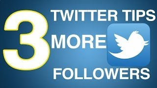 Free Twitter Followers (2014)- How To Get Followers For
