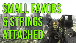 Small Favors & Strings Attached (Ghosts SVU Gameplay Commentary)