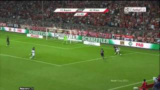 Highlights AC Milan vs Bayern Munich - 26/07/2011