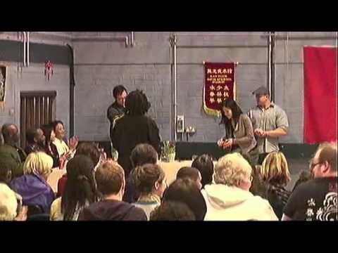 4 Kung-Fu Masters and one Grand Master demo together UK Part1