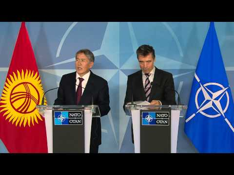 NATO Secretary General and President of Kyrgyz Republic - Joint Press Point 17 September 2013