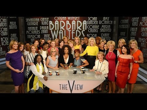 "Barbara Walters Says Goodbye to ""The View"" - Highlights from the show"