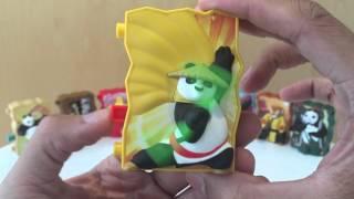 KungFu Panda 3 - Happy Meal Toys