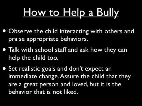 Different types what are the different types of bullying