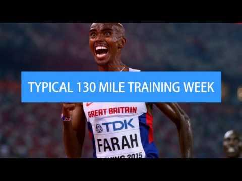 Mo Farah - Typical Training Week