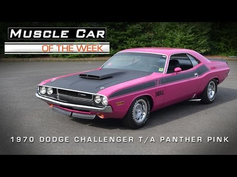 Muscle Car Of The Week Video #24: 1970 Dodge Challenger T/A