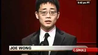 WHCD: Joe Wong on Being American