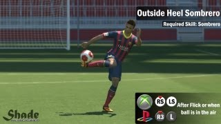 PES 2014 Tricks & Skills Tutorial Xbox & Playstation HD