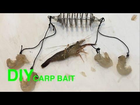 How To Method Spring Feeder For Carp & Carp Bait(127)DIY - Fishing Tips - Mồi Chép Tôm Tươi