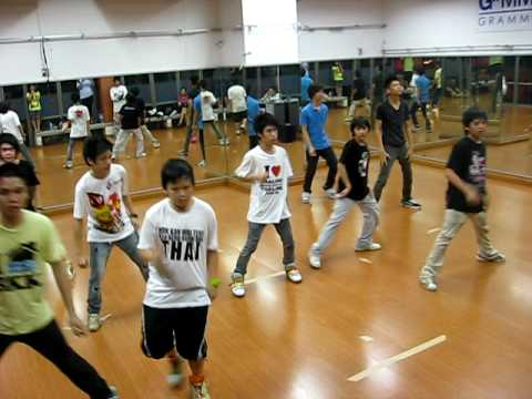 Super junior - Bonamana (Miinah) -Work SHop and Rehearsal step by kru lot