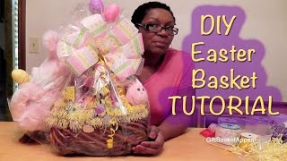 How To Make An Easter Basket Giftbasketappeal