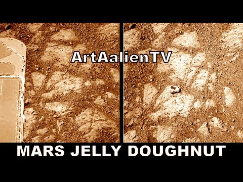 "Mars Mystery Pinnacle Island ""Jelly Doughnut"" - NASA Opportunity Fiasco - 2014. ArtAlienTV 720p"