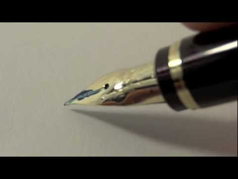 The joy of writing with fountain pens
