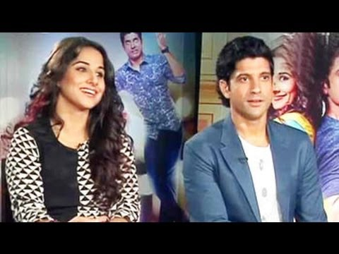 Farhan Akhtar and Vidya Balan explain why couples fight