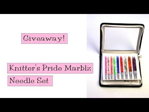 Giveaway!  Knitter's Pride Marblz Deluxe Needle Set