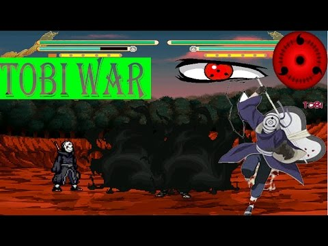 Naruto Shippuden MUGEN 2014 Tobi  War