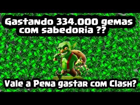 Clash of Clans - Gastando 334.000 gemas com sabedoria ? Vale a pena gastar com Clash ?