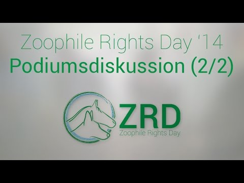 Zoophile Rights Day Podiumsdiskussion 2