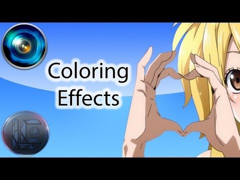 Coloring Effects - Sony Vegas Pro Tutorial