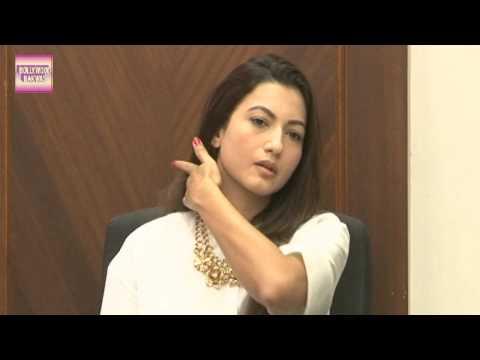 Gauhar Khan Press Conference Slapped For Wearing