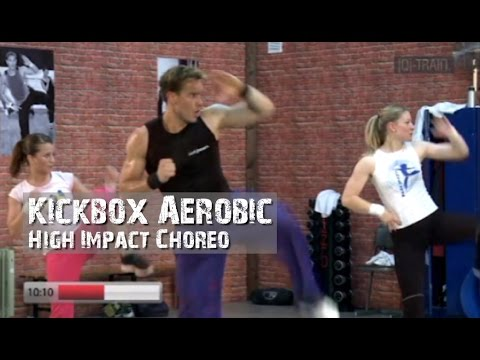 Kickbox Aerobic High Impact Choreos
