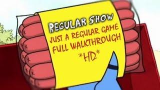 Regular Show: Just A Regular Game 3 Parts FULL Walkthrough