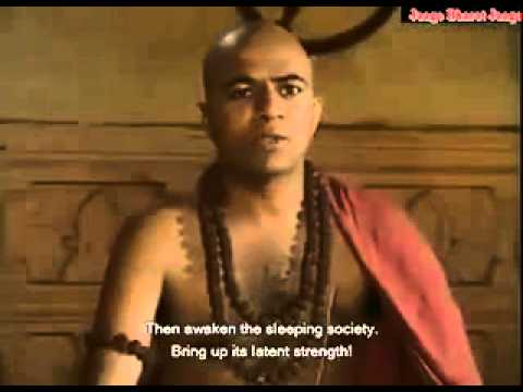 Clip from the old Chanakya serial  Very good speech and almost entirely still relevent