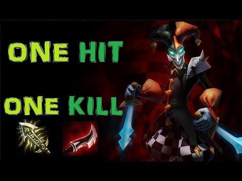 Shaco Full Damage [Infinity Edge Rush] League of Legends - Full Gameplay - Infernal Shaco