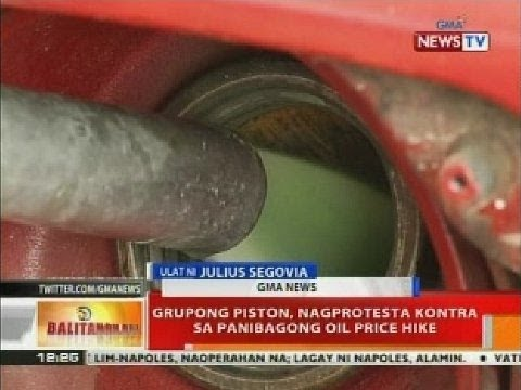 BT: Grupong Piston, nagprotesta kontra sa panibagong oil price hike