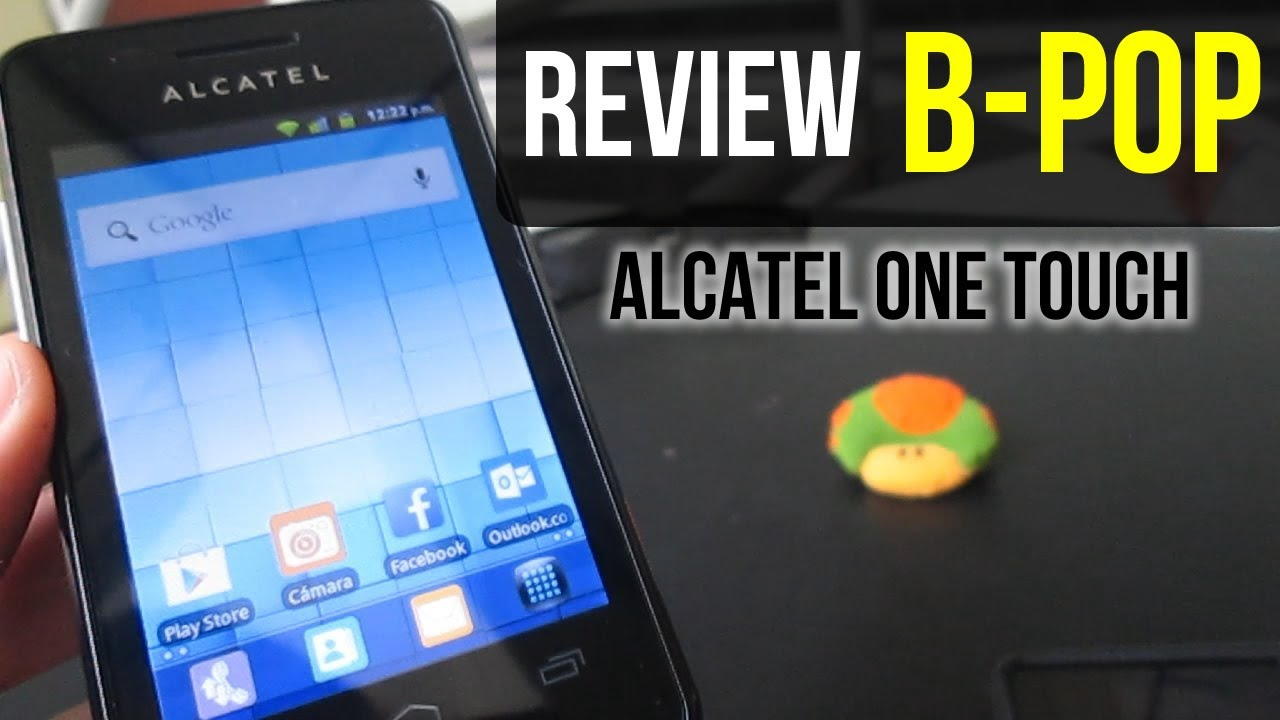 Review Alcatel One Touch B POP - YouTube